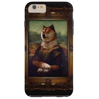 総督のモナ・リザのファインアートのShibeのミームの絵画 Tough iPhone 6 Plus ケース