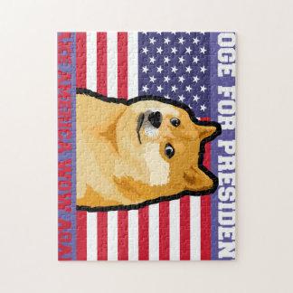 総督の大統領-総督shibe総督の犬かわいい総督 ジグソーパズル