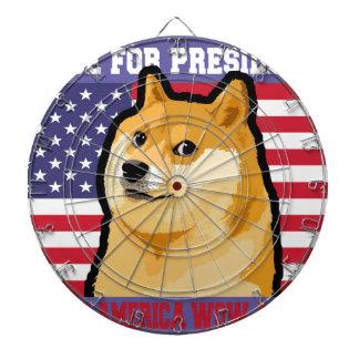 総督の大統領-総督shibe総督の犬かわいい総督 ダーツボード