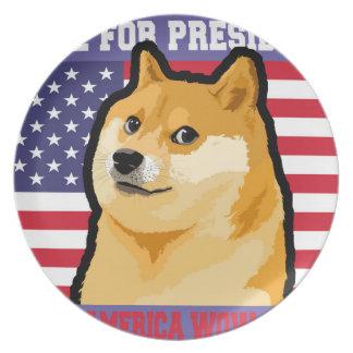 総督の大統領-総督shibe総督の犬かわいい総督 プレート