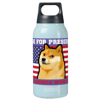 総督の大統領-総督shibe総督の犬かわいい総督 断熱ウォーターボトル