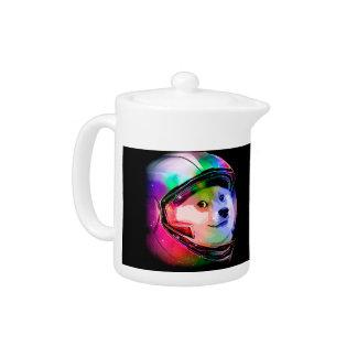 総督の宇宙飛行士カラフル犬-総督shibe総督犬