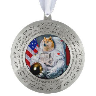 総督の宇宙飛行士総督shibe総督の犬かわいい総督 オーナメント