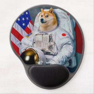 総督の宇宙飛行士総督shibe総督の犬かわいい総督 ジェルマウスパッド