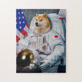 総督の宇宙飛行士総督shibe総督の犬かわいい総督 ジグソーパズル