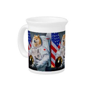 総督の宇宙飛行士総督shibe総督の犬かわいい総督 ピッチャー