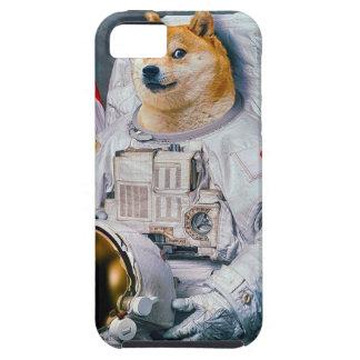 総督の宇宙飛行士総督shibe総督の犬かわいい総督 iPhone SE/5/5s ケース