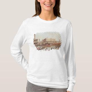 総督の宮殿およびPiazzettaの眺め Tシャツ
