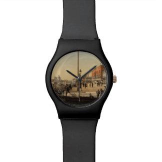 総督の宮殿の前、ベニス、イタリア 腕時計