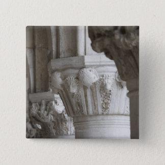 総督の宮殿ベニスイタリアのコラムの詳細 5.1CM 正方形バッジ