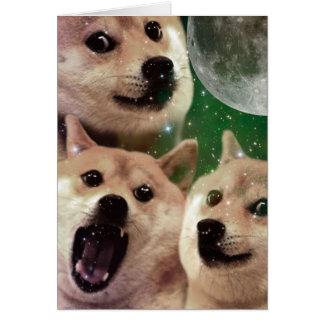 総督の月-総督の宇宙-犬-総督- shibe カード