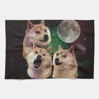 総督の月-総督の宇宙-犬-総督- shibe キッチンタオル
