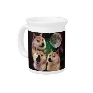 総督の月-総督の宇宙-犬-総督- shibe ピッチャー