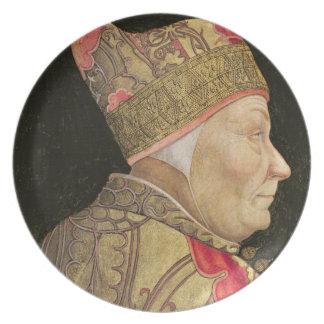 総督フランチェスコFoscari 1460年 プレート