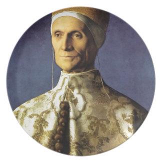 総督レオナルドLoredanのジョバンニBelliniのポートレート プレート