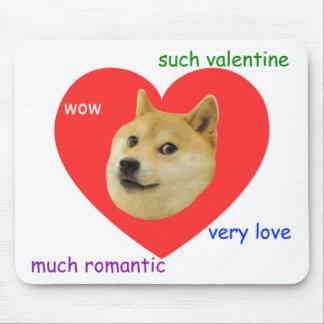 総督多くの非常のバレンタインデー愛ロマンチックなそのような物 マウスパッド