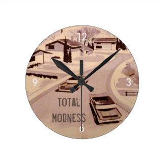 総Modness! レトロのモダン ラウンド壁時計