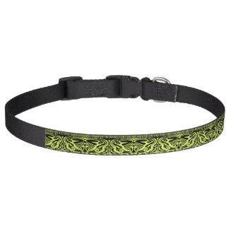 緑および憂うつつば ペット首輪