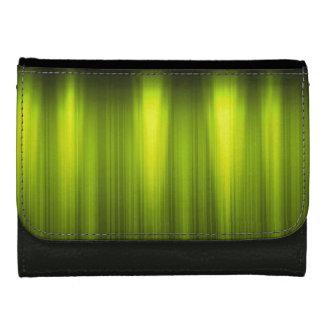 緑および白いエネルギー-黒く模造のな革