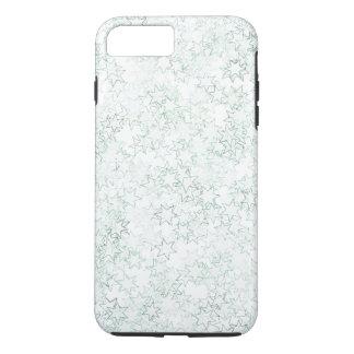 緑および白い星の団結心は色を遊ばします iPhone 8 PLUS/7 PLUSケース