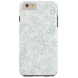 緑および白い星の団結心は色を遊ばします TOUGH iPhone 6 PLUS ケース