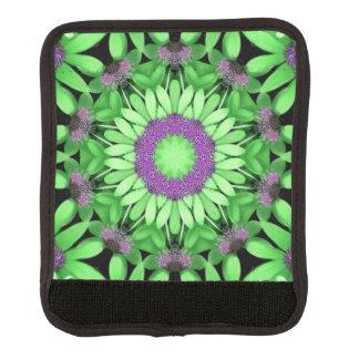 緑および紫色のラゲージハンドルラップ ラゲッジ ハンドルラップ
