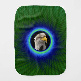 緑および青のバープクロスによって編まれるフレーム バープクロス