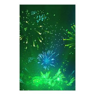 緑および青の輝き 便箋