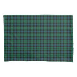 緑および青のMacKayの一族のスコットランド人のタータンチェック 枕カバー