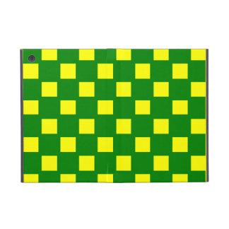 緑および黄色の点検されたiPad Miniケース iPad Mini ケース