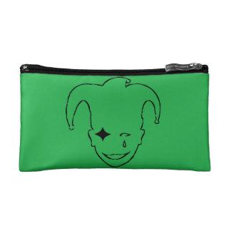 緑および黒いMTJ コスメティックバッグ