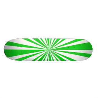 緑か自然なデッキ スケートボード
