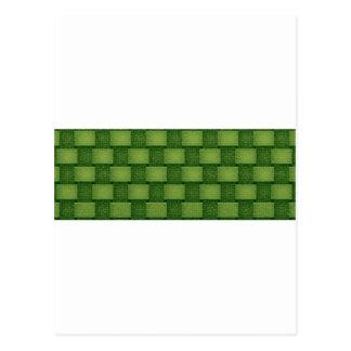 緑がかった壁- ポストカード
