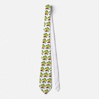 緑がかった蘭のウミガメのタイ オリジナルタイ