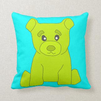 緑くまの枕 クッション