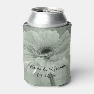 緑によって染められるデイジーの結婚式の引き出物 缶クーラー