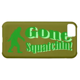緑によって行くsquatchinのスローガンの文字 iPhone5Cケース