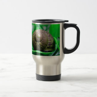 緑のかたつむり トラベルマグ