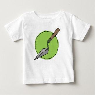 緑のこて-考古学者のツールキット ベビーTシャツ