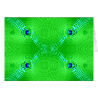 緑のさざ波 カード