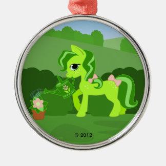 緑のひづめ メタルオーナメント
