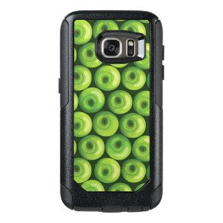 緑のりんごが付いているパターン オッターボックスSamsung GALAXY S7ケース