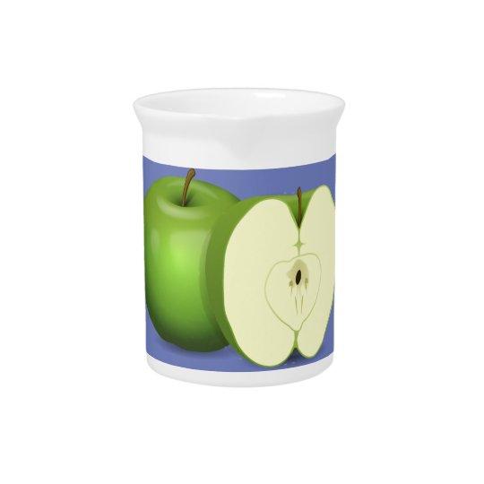 緑のりんごの水差し ピッチャー