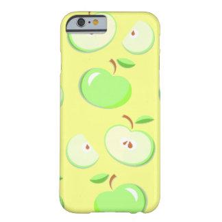 緑のりんごは黄色、iPhone 6/6sの場合で設計します Barely There iPhone 6 ケース