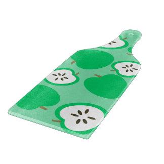 緑のりんご カッティングボード