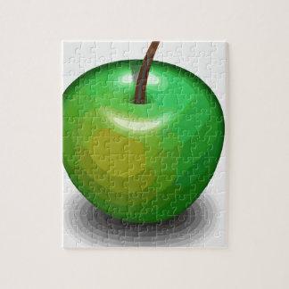 緑のりんご ジグソーパズル