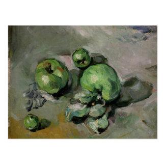緑のりんご、c.1872-73 ポストカード