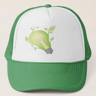 緑のアイディア キャップ