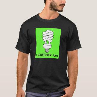 緑のアイディア Tシャツ