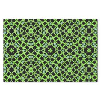 緑のアイルランドのシャムロックのクローバーのティッシュペーパー 薄葉紙